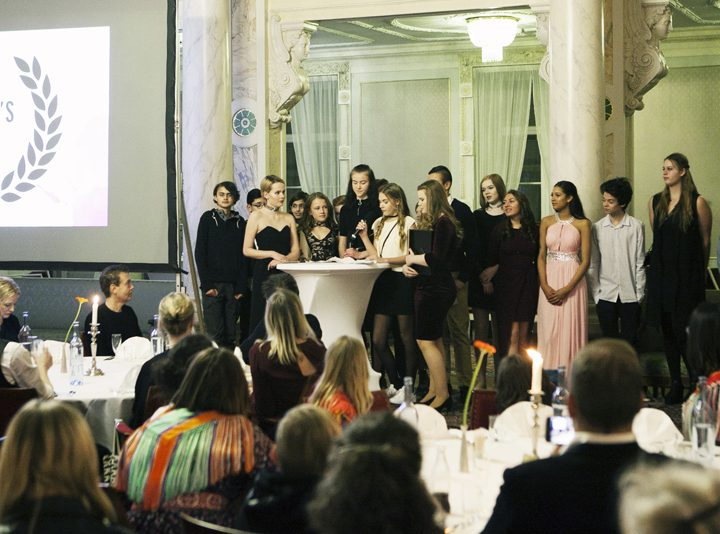 The Young People's Film Jury Award: 25 000 sek for the very first time
