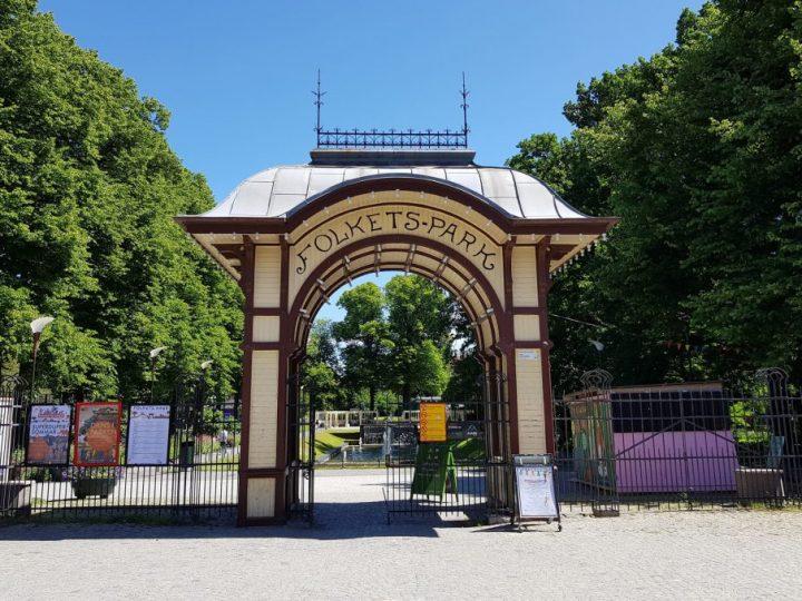 Sommarlovsbio i Folkets Park
