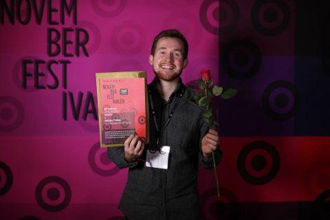 Christian Zetterberg vinner BUFFs pris för filmen skoldiscot