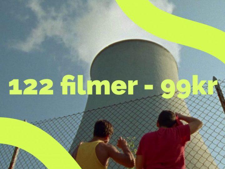 Köp biljett här! 122 filmer – 99kr